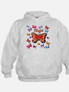 CRPS Lava Bloom Butterfly HOPE Hoodie