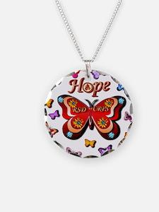 CRPS Lava Bloom Butterfly HO Necklace