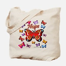 CRPS Lava Bloom Butterfly HOPE Tote Bag