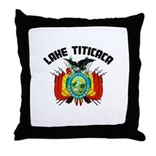 Lake Titicaca Throw Pillow