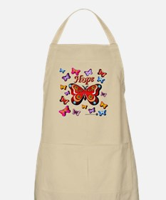 CRPS Lava Bloom Butterfly HOPE Apron