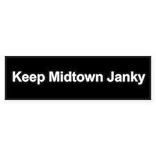 Keep Midtown Janky Bumper Bumper Sticker
