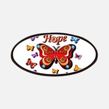 CRPS Lava Bloom Butterfly HOPE Patch