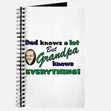 Grandpa Knows Everything Journal