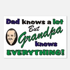 Grandpa Knows Everything Postcards (Package of 8)