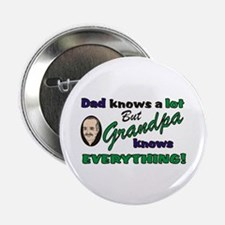 "Grandpa Knows Everything 2.25"" Button (10 pack)"