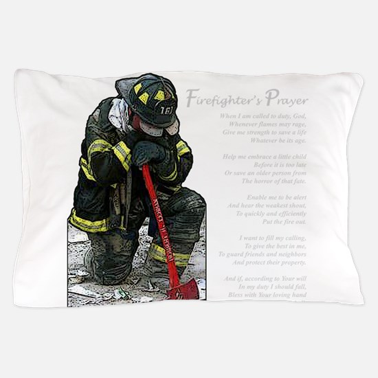 Funny Firefighter Pillow Case