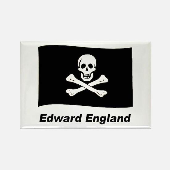 Pirate Flag - Edward England Rectangle Magnet