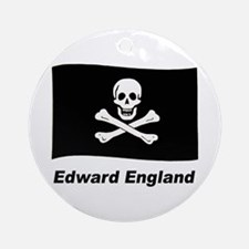 Pirate Flag - Edward England Ornament (Round)