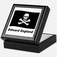 Pirate Flag - Edward England Keepsake Box