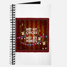 Not My Circus Monkeys Stamp Journal