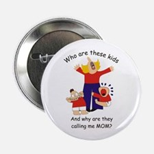 "Who Are These Kids 2.25"" Button (10 pack)"