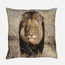 Cecil the Lion Everyday Pillow