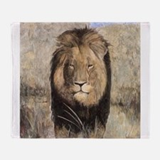 Cecil the Lion Throw Blanket