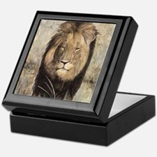 Cecil the Lion Keepsake Box