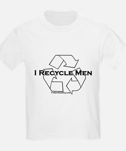 I recycle men T-Shirt