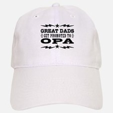 Great Dads Get Promoted To Opa Baseball Baseball Cap