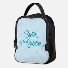 Sister of the Groom Neoprene Lunch Bag