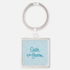 Sister of the Groom Keychains