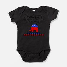 Cute Conservatives Baby Bodysuit
