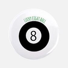 Lucky Eight Ball Button