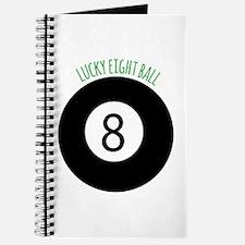 Lucky Eight Ball Journal