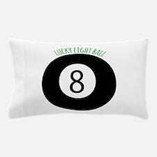 Lucky Eight Ball Pillow Case