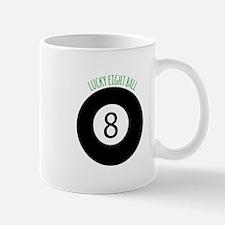 Lucky Eight Ball Mugs