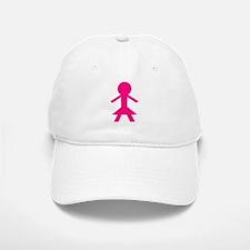 Girl Baseball Baseball Cap