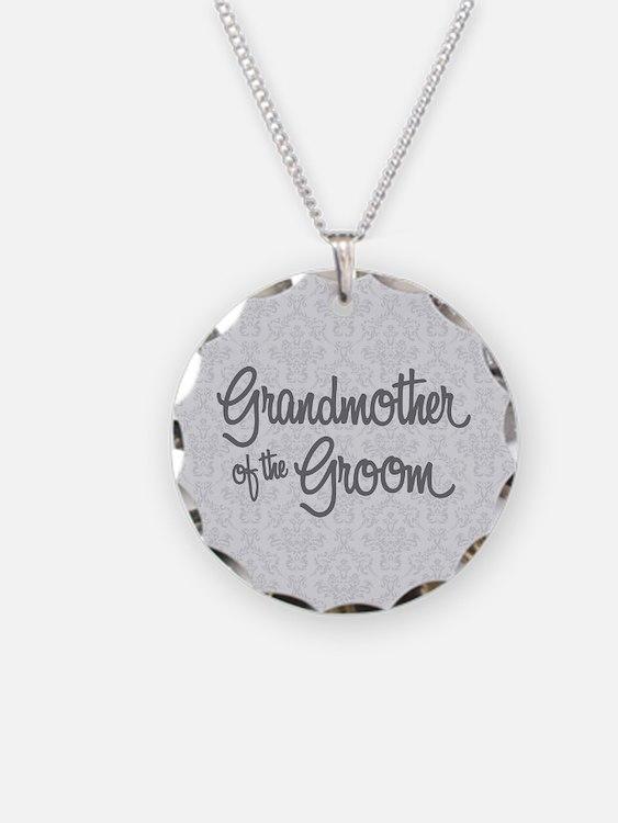 Grandma of the Groom Necklace