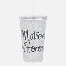 Matron of Honor Acrylic Double-wall Tumbler