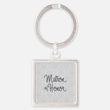 Matron of Honor Keychains