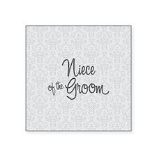 Niece of the Groom Sticker