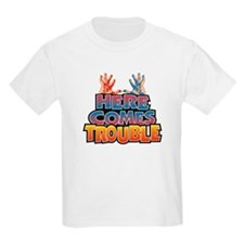 Here Comes Trouble Kids T-Shirt