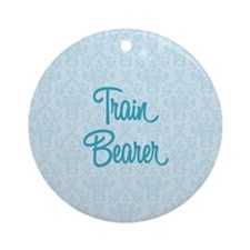Train Bearer Round Ornament