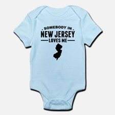 Somebody In New Jersey Loves Me Body Suit