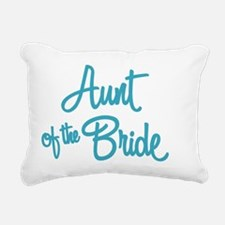 Aunt of the Bride Rectangular Canvas Pillow