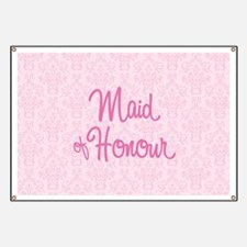 Maid of Honour Banner
