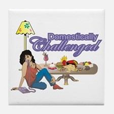 Domestically Challenged Tile Coaster