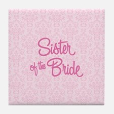 Sister of the Bride Tile Coaster