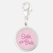 Sister of the Bride Charms