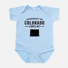 Somebody In Colorado Loves Me Body Suit