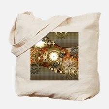Steampunk, awesome steampunk design Tote Bag