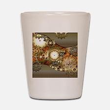 Steampunk, awesome steampunk design Shot Glass