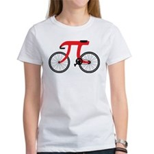 Red PI Bike T-Shirt