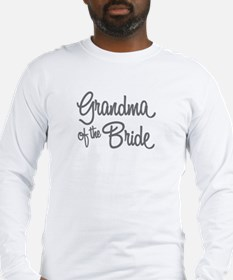 Grandmother of the Groom Long Sleeve T-Shirt