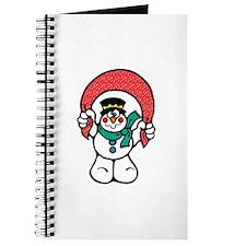 Silly Goofy Snowman Journal