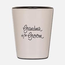 Grandma of the Groom Shot Glass