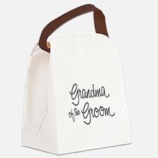Grandma of the Groom Canvas Lunch Bag