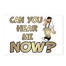 Can You Hear Me Now? Postcards (Package of 8)